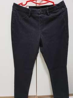 Denim legging pants