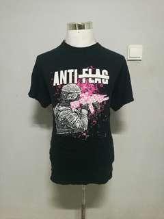 ANTI-FLAG band t-shirt