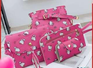 New 4 in 1 Versatile Hello Kitty Bag