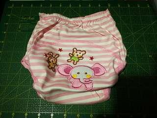 Kid Potty Training Pant (PINK elephant)