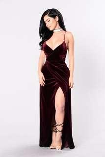VELVET - Fashion Nova Prom Dress