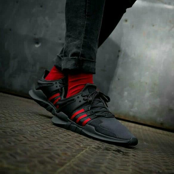 eca18aa7eafe Adidas EQT Support ADV Utility Black Scarlet