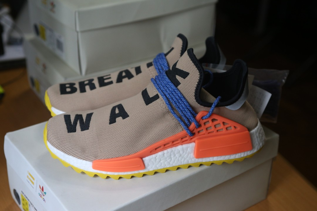b0a6d51d9499 adidas Human Race NMD TR Trail Pharrell Williams Pale Nude