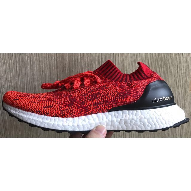 83ea3 e111f adidas ultra boost uncaged solar red quality ... 19a105d168