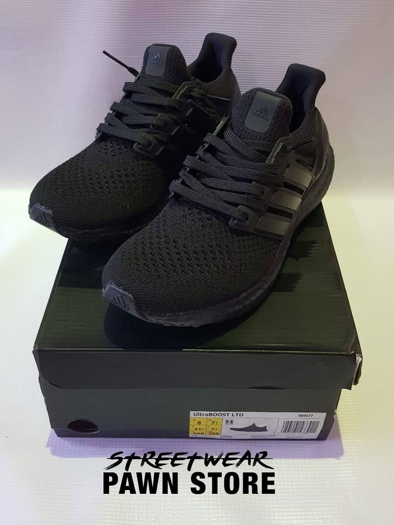 a37b311be ADIDAS ULTRABOOST 1.0 TRIPLE BLACK