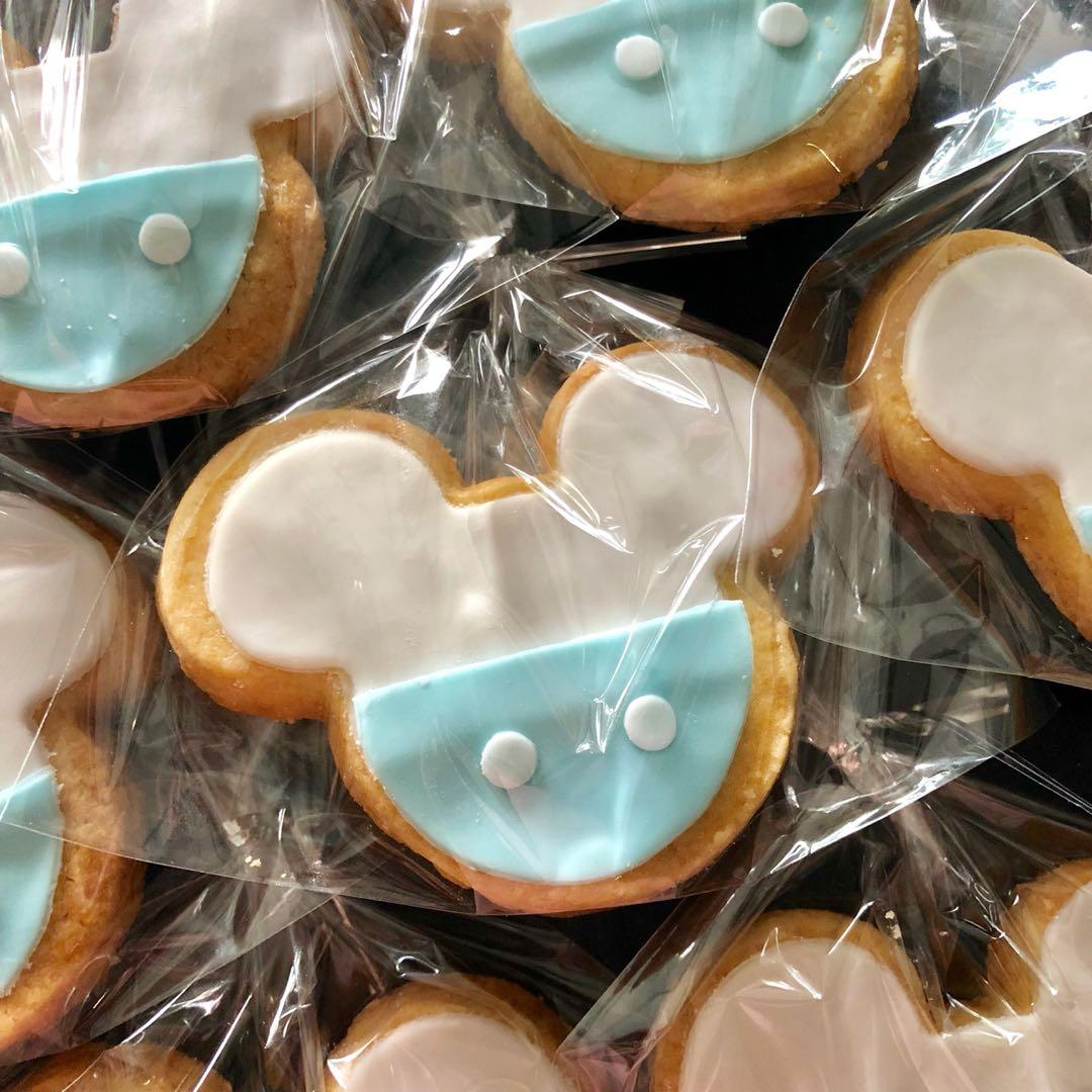 Baby mickey fondant cookie, Food & Drinks, Baked Goods on