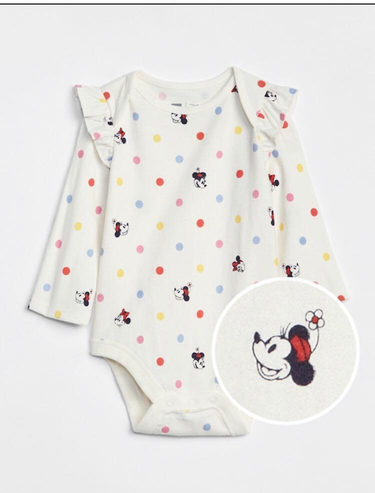 74c176363 BN Baby GAP Disney Minnie Mouse Allover Print Onesie/ Romper ! 6 ...