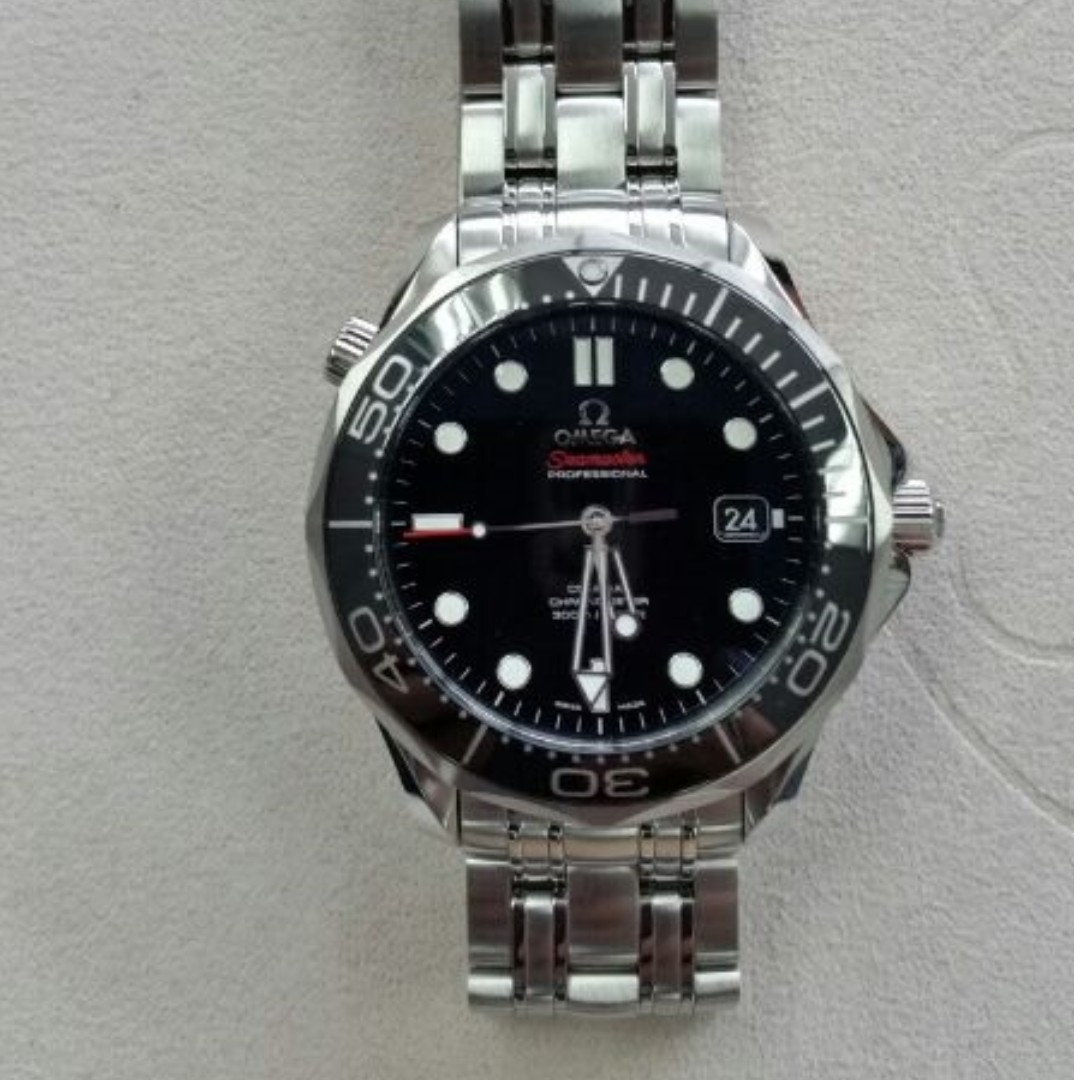 Brand New Full Set Omega Seamaster Pro 300m Black Ceramic Bezel