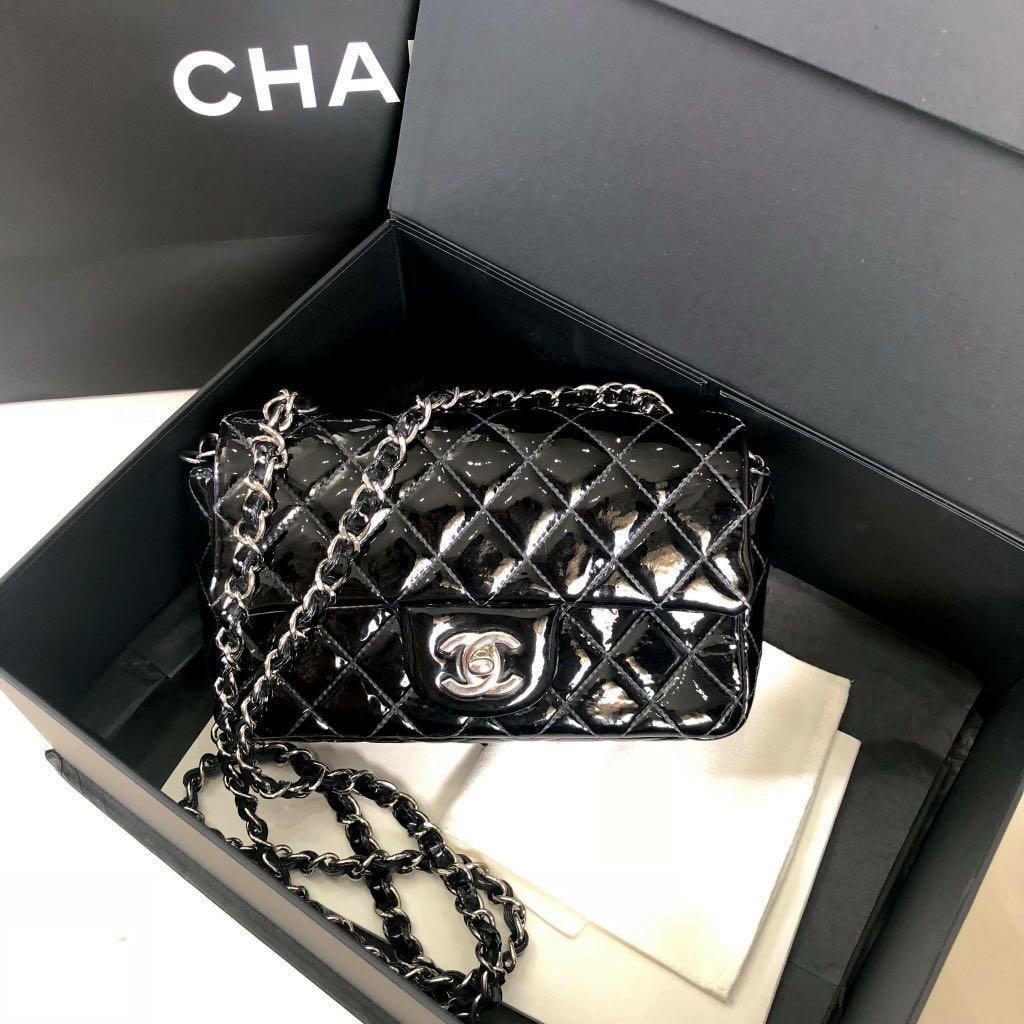"3cadd50071f4 Chanel Mini 8"" , Luxury, Bags & Wallets, Handbags on Carousell"