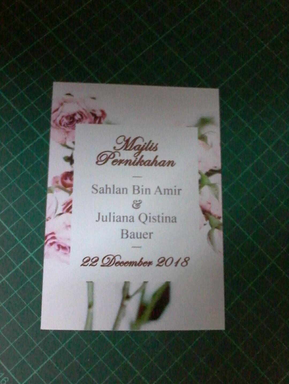 Customised Wedding Invitation Card Design Craft Art Prints On
