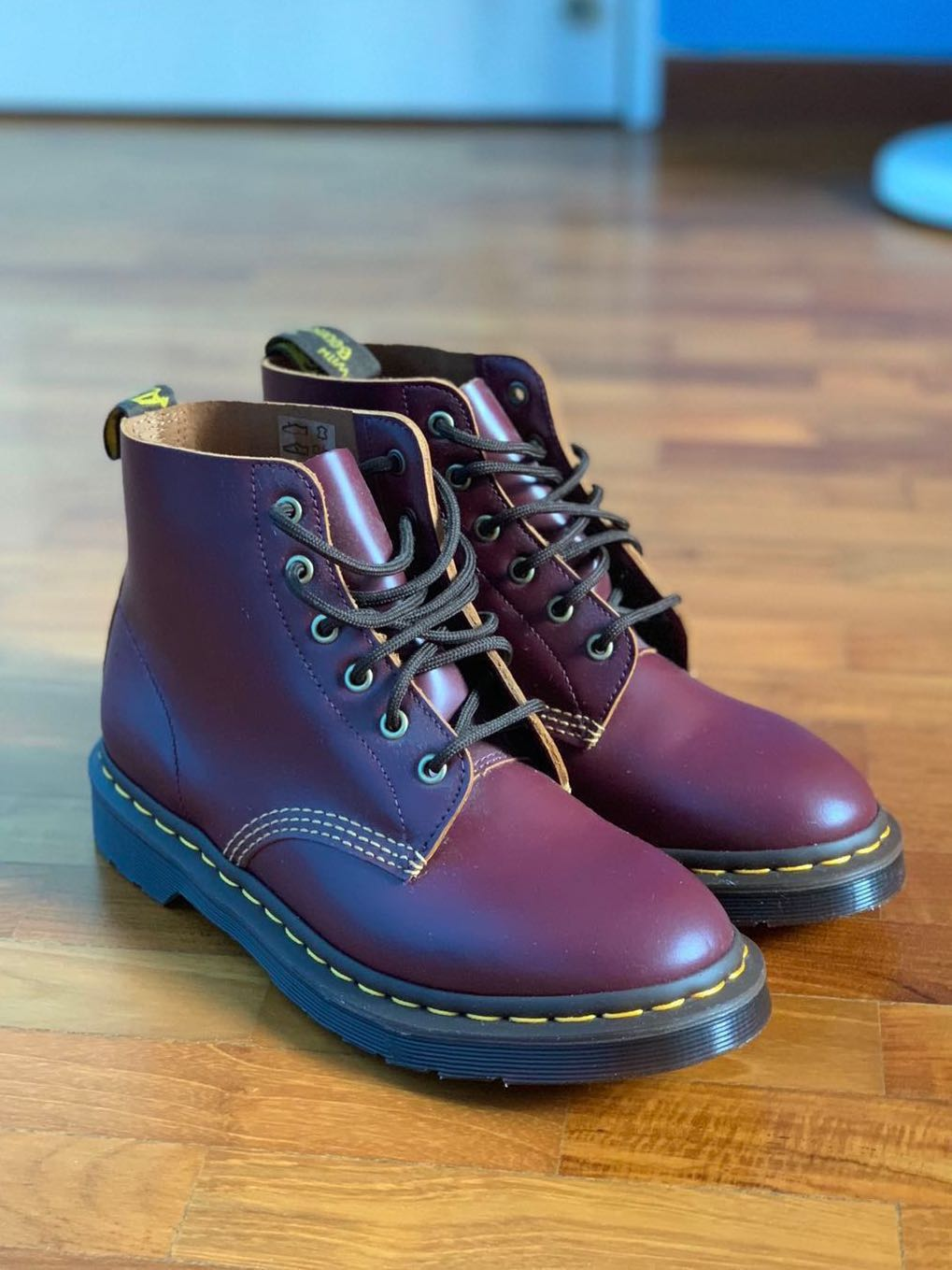 e22b814b Doc Martens 101 Vintage Smooth (OXBLOOD), Luxury, Shoes on Carousell