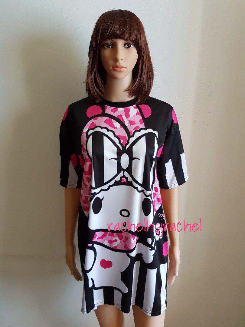 f5fe1e956f8 DRI-FIT Melody Oversized Plus Size Cartoon Dress