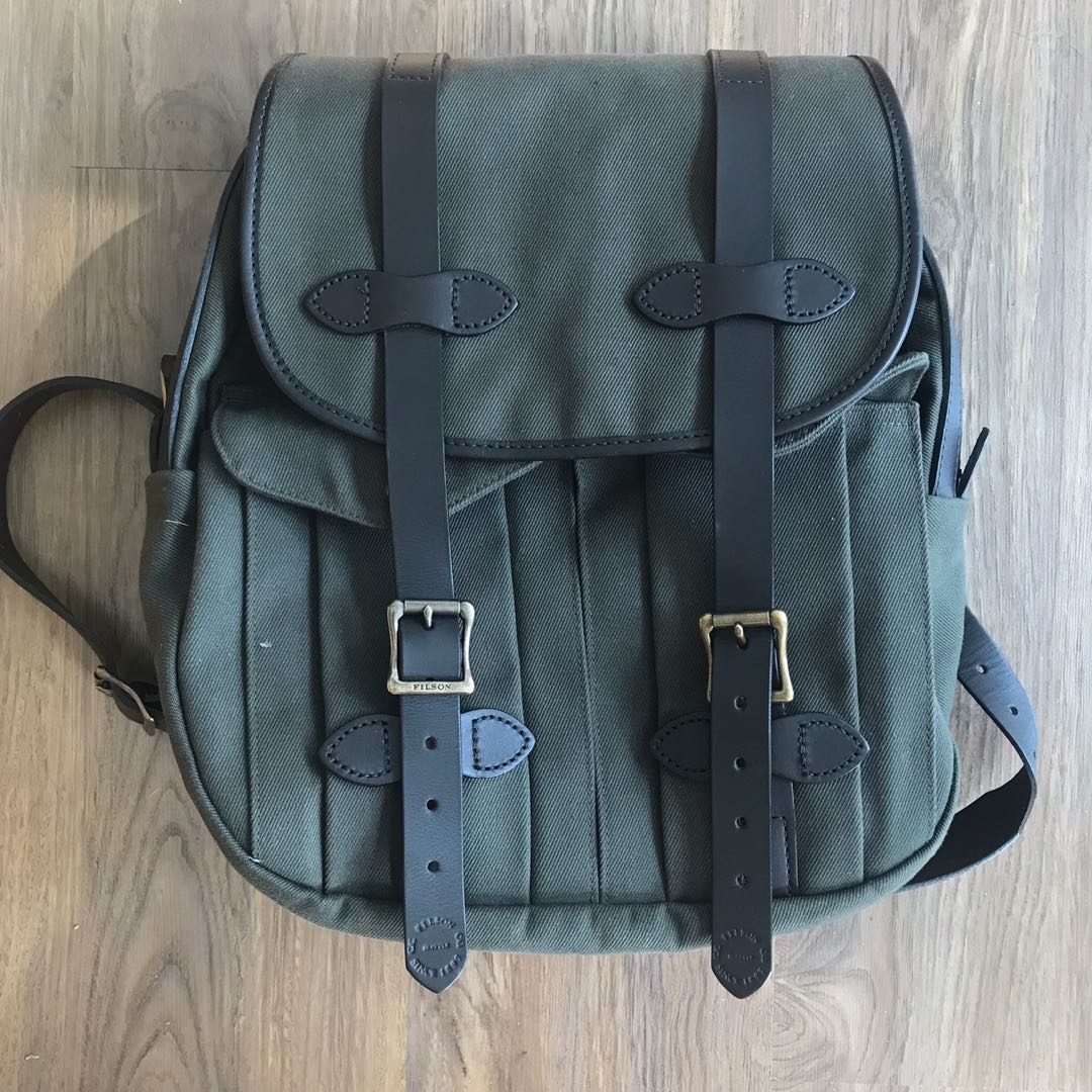 Filson Rugged Twill Backpack (Rucksack), Men s Fashion, Bags   Wallets,  Backpacks on Carousell fc611f9ed4
