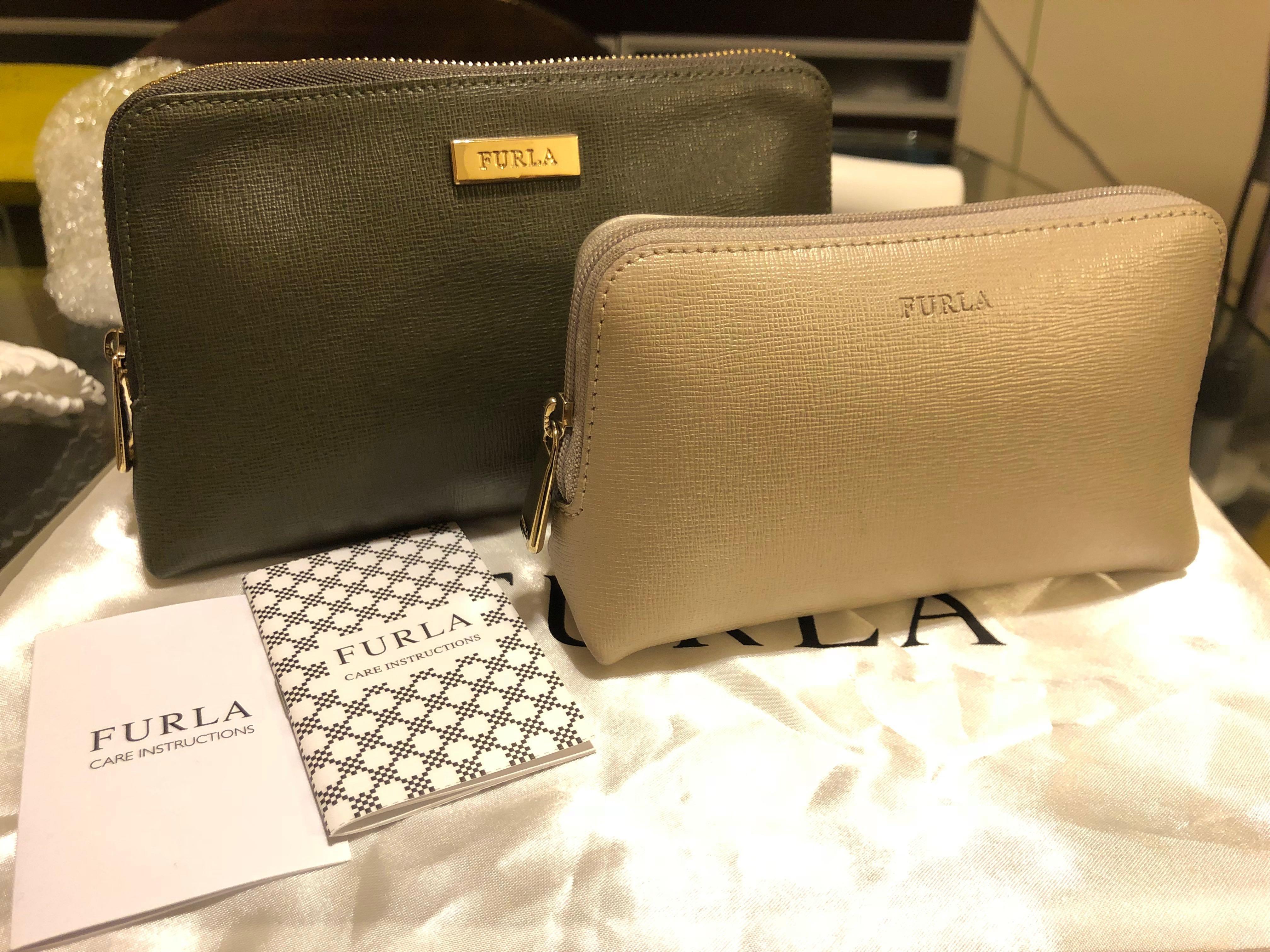 FURLA cosmetics 2 bag set