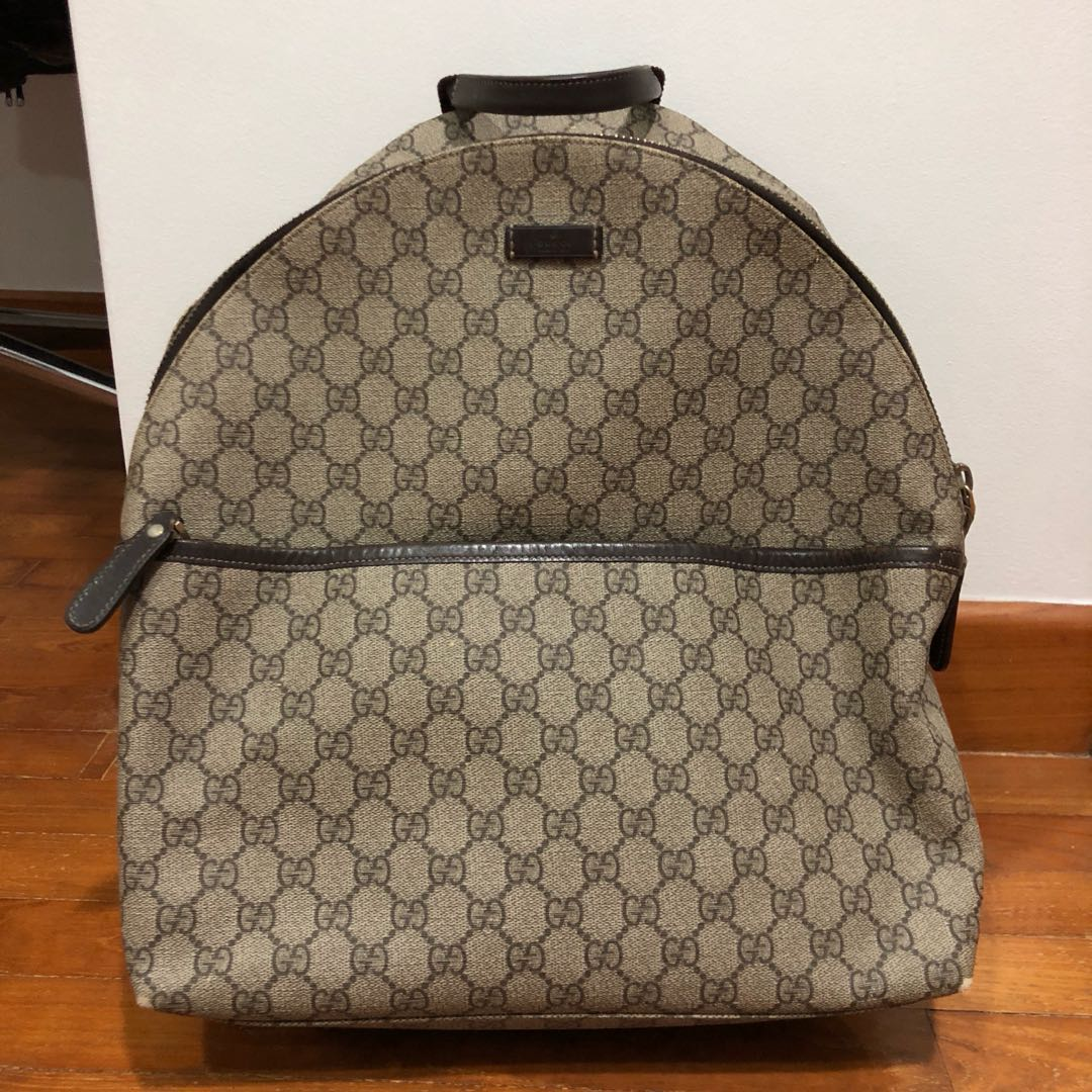 1e25fa85d7b35d Gucci Supreme backpack, Luxury, Bags & Wallets, Backpacks on Carousell
