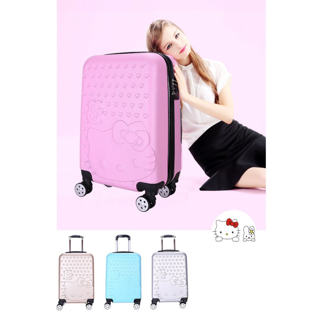 823a0fbd5 Hello Kitty 20 inch Cabin Size Luggage, Women's Fashion, Bags ...