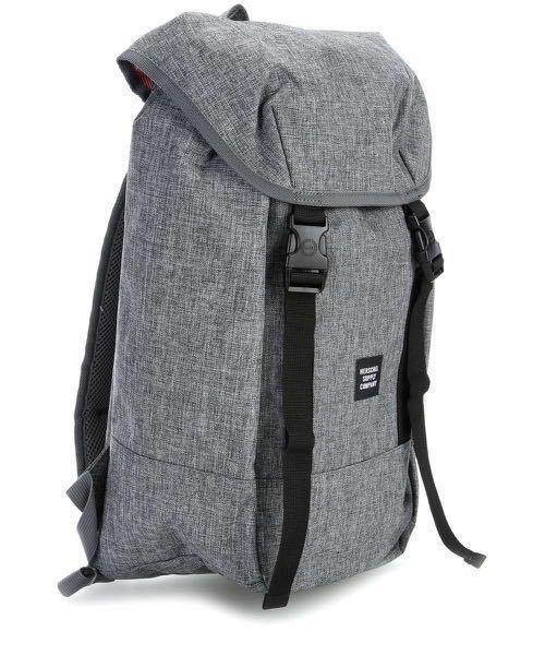 2a46aa1e961 Herschel Iona Backpack Raven Crosshatch (grey)
