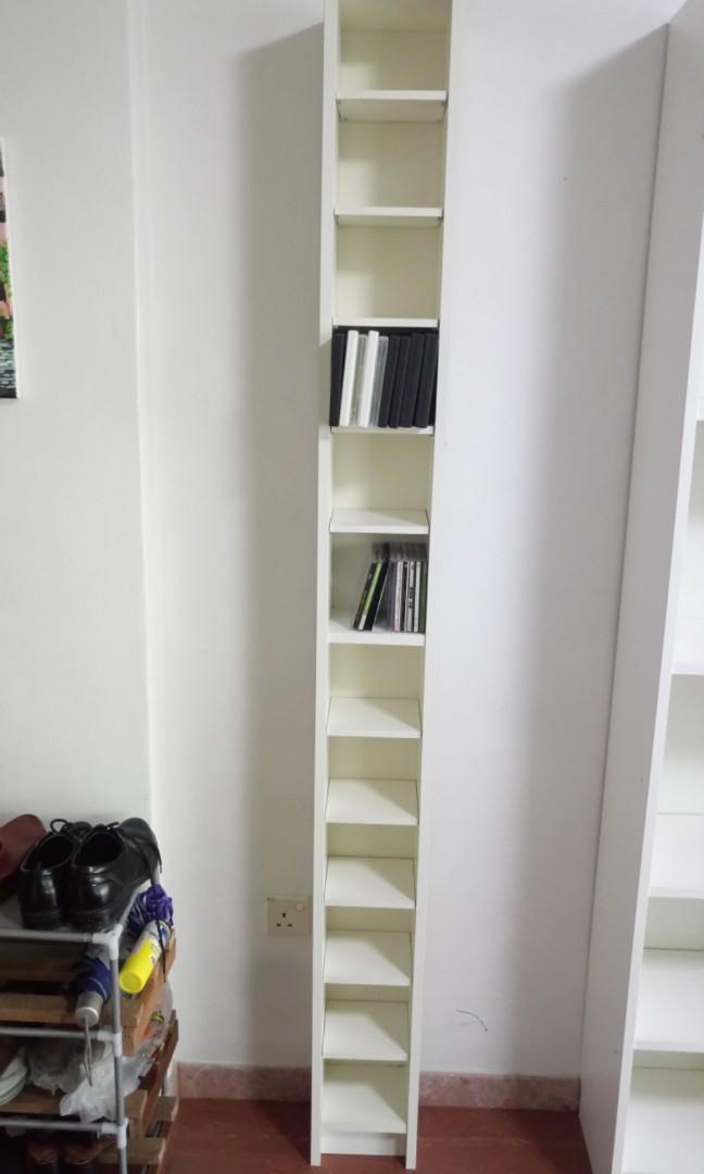 House Moving Ikea Gnedby Shelving Unit Cd Dvd Rack Furniture Shelves Drawers On Carousell