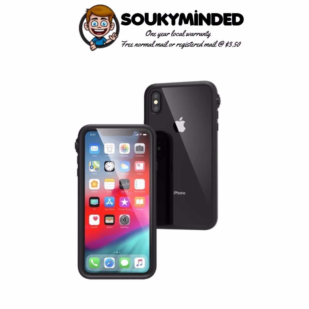 best service 40a28 d40da [IN-STOCK] Catalyst Impact Protection Case for iPhone XS Max - Stealth Black
