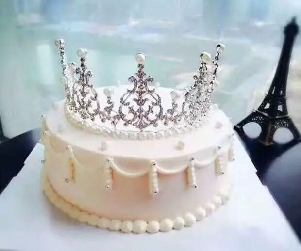 In StocksTiara Crown For Cake Pretty Birthday Wedding