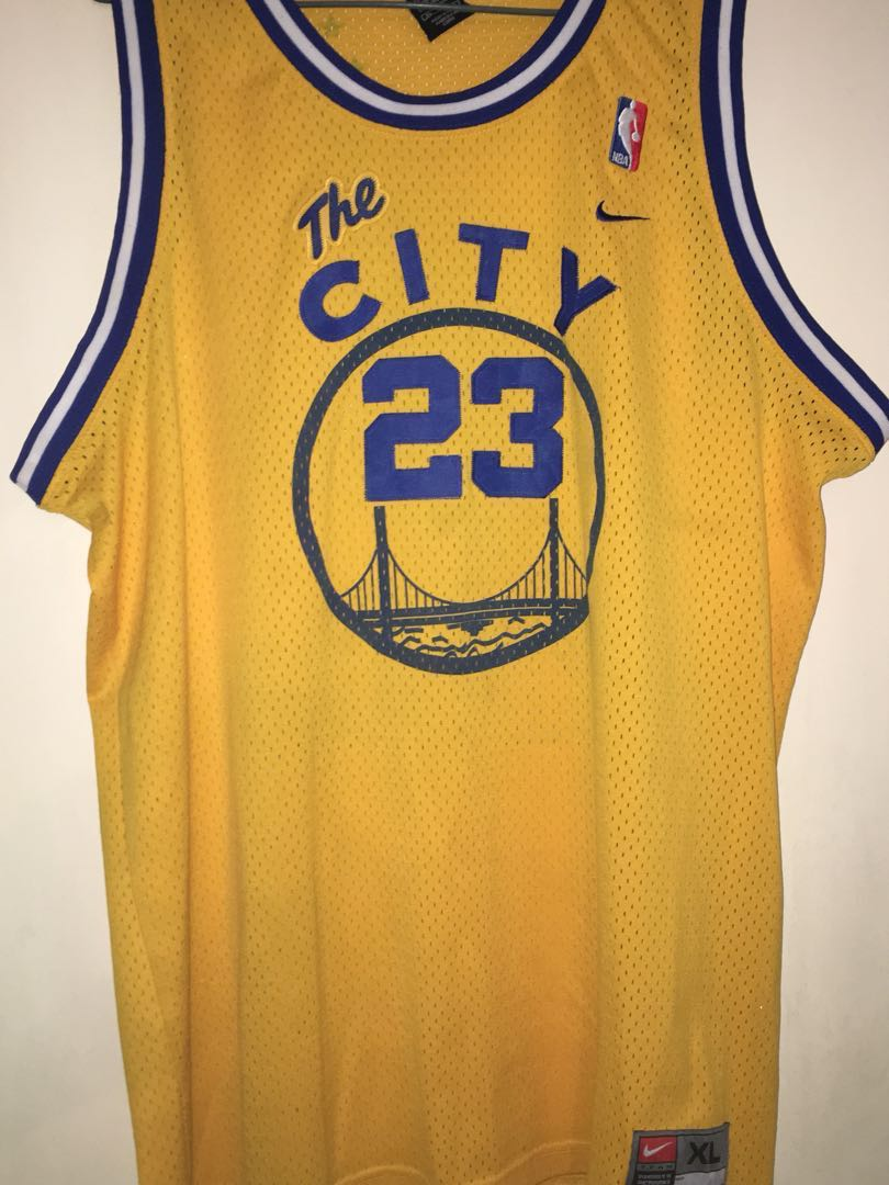 Jason Richardson Golden State Warriors Nike Hardwood Classic NBA Jersey  size XL d567145f2