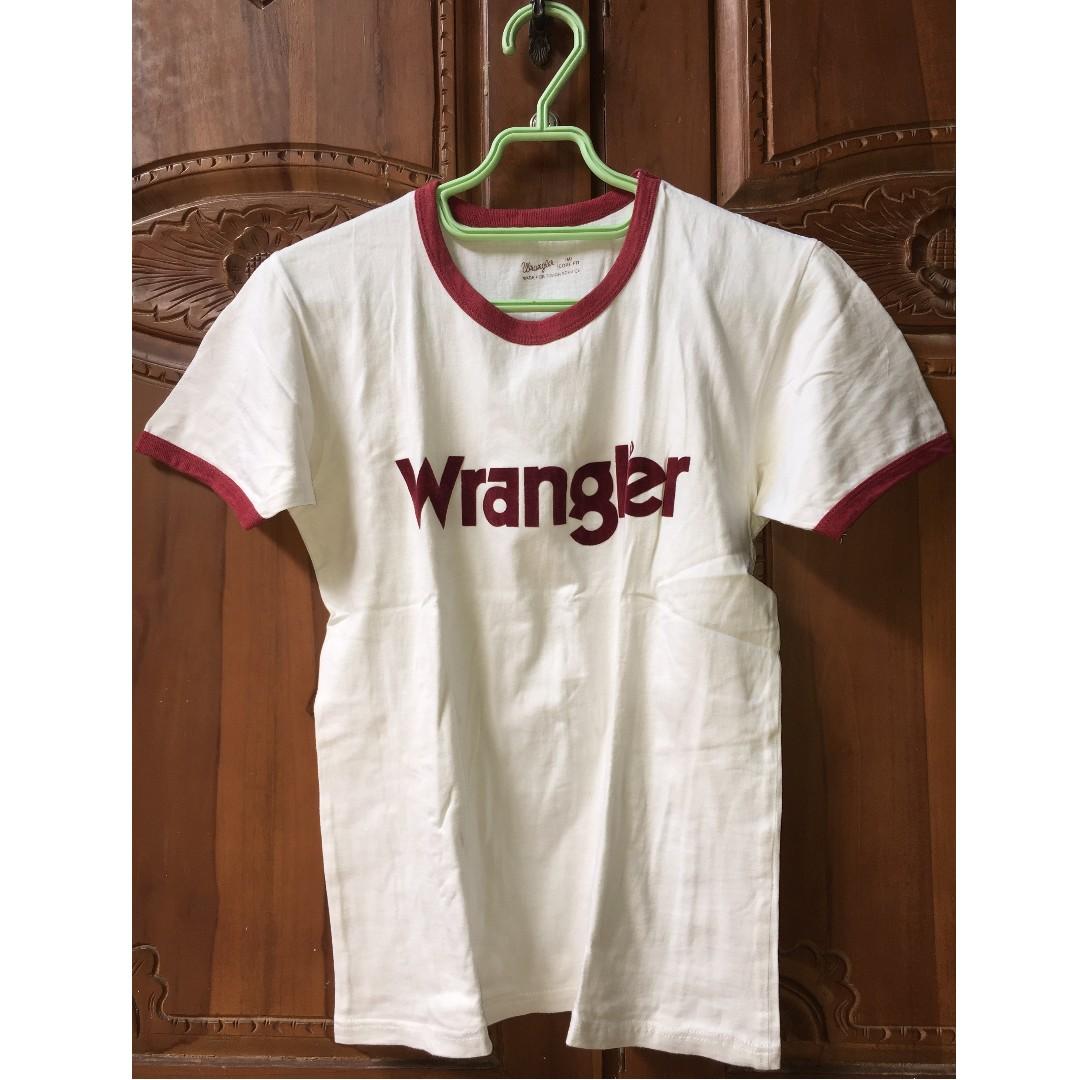 Kaos Distro Wrangler T Shirt Merah - Cek Harga Terkini dan ... 0214012003