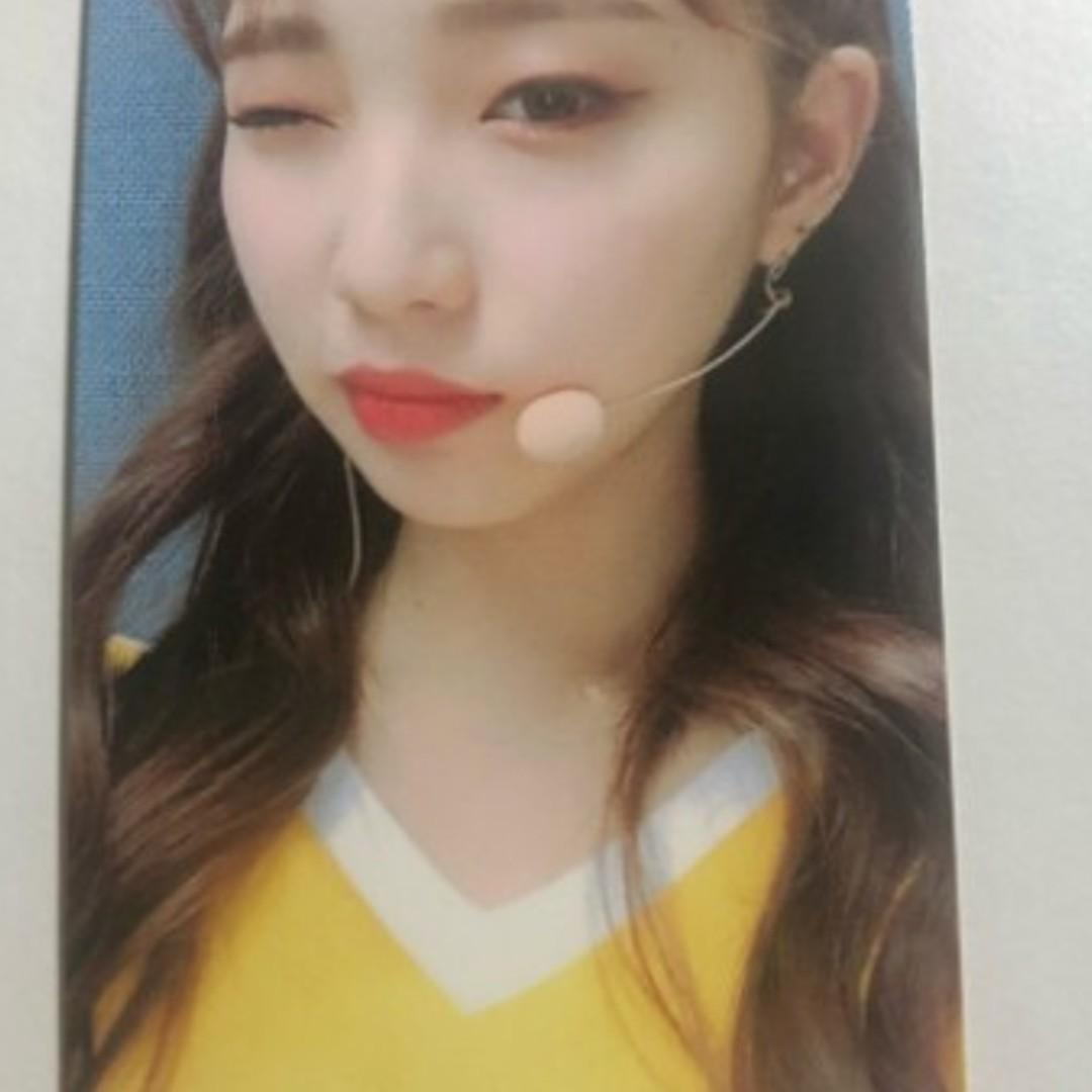 LOONA OFFICIAL YEOJIN BROADCAST PHOTOCARD