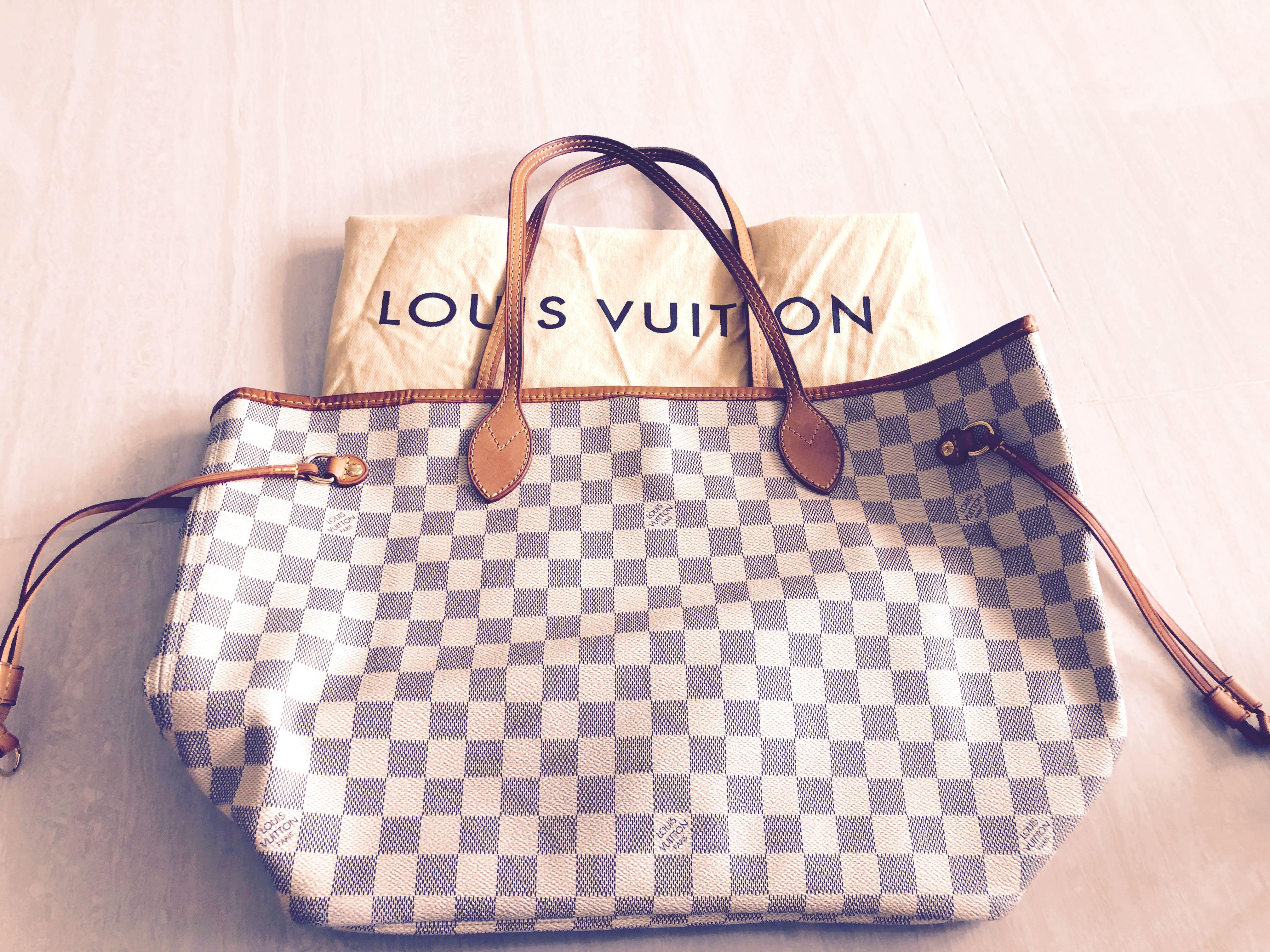 cfc6e37340 Louis Vuitton LV Neverfull tote bag ( ❌NO Clutch❌)