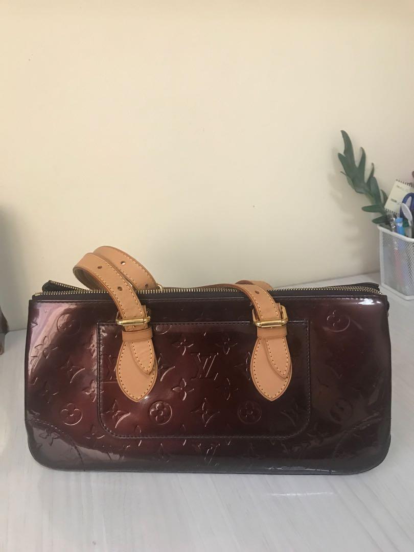 7885f2793da9 Louis Vuitton Vernis rosewood amarante