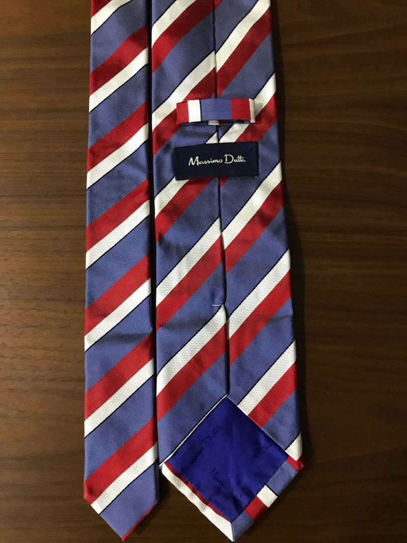 282fbadf3d10 Massimo Dutti Tie, Men's Fashion, Accessories, Ties & Formals on ...