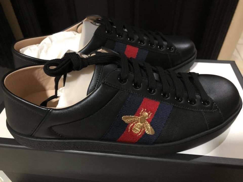 865878c2696 ️NEGOTIABLE‼ AUTHENTIC Gucci Ace Sneakers (Men s)