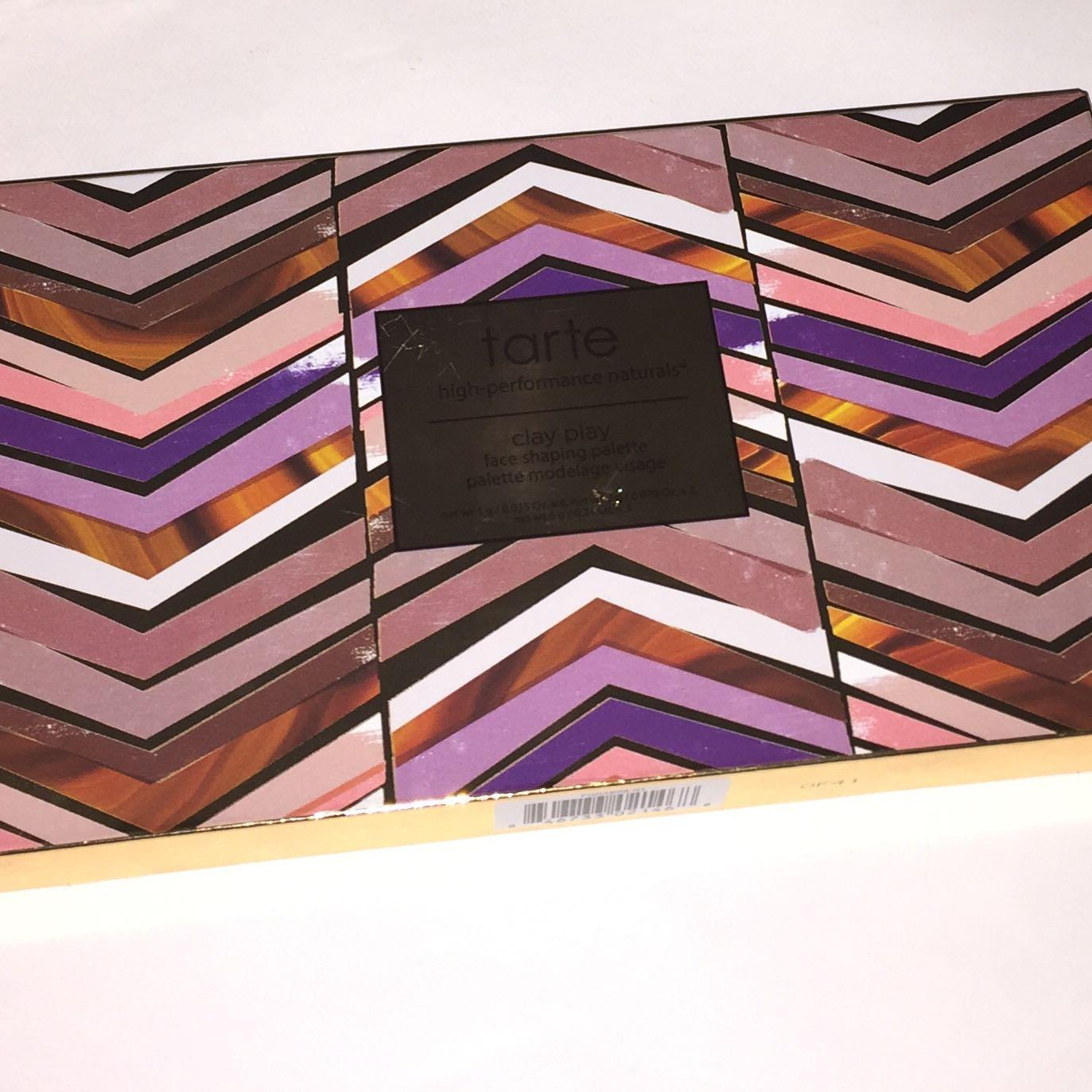 NEW & NOW DISCONTINUED TARTE CLAY PLAY SHAPING PALETTE