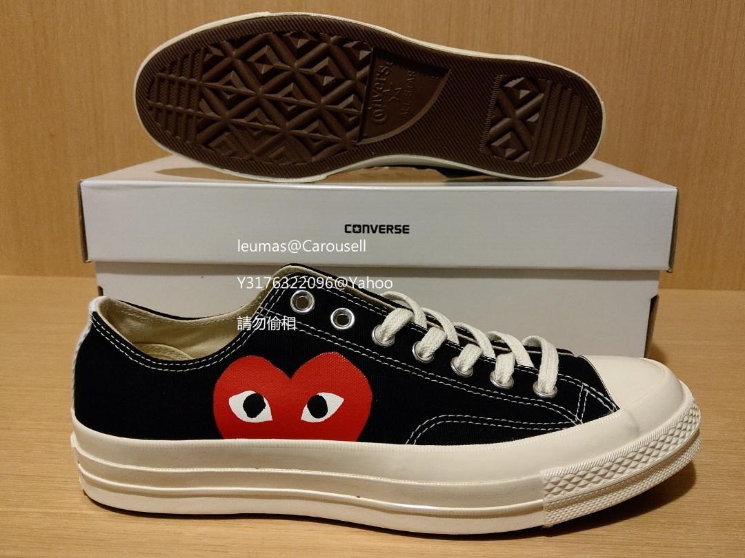 240100dee1dc  NEW  Converse X CDG Play All Star US9 EUR42.5 ( Vans Comme Des Garcons  wtaps