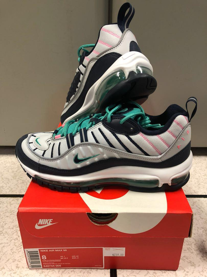 the latest 71cdc bdf60 Nike Air Max 98 - South Beach, Men's Fashion, Footwear ...