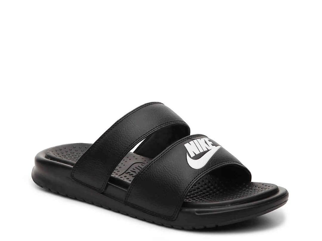 a9de8386460 Nike Benassi Duo Ultra Slides, Women's Fashion, Shoes, Flats ...