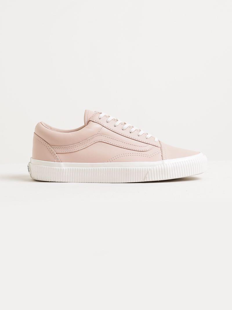 9a95ee30588b Old Skool Sneakers in Baby Pink leather