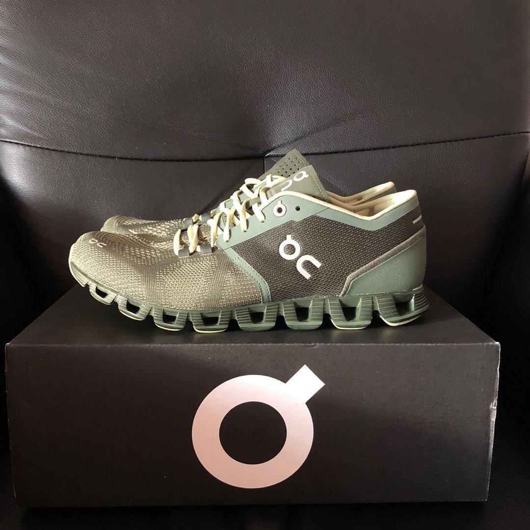 On Running Cloud X Swiss Running Shoes
