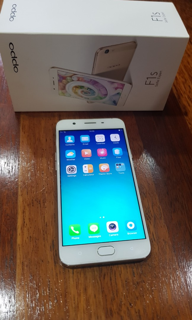 Oppo F1s Gold (used)