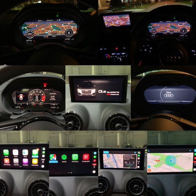 Original Audi Q2 AID Active Info Display aka Virtual Cockpit
