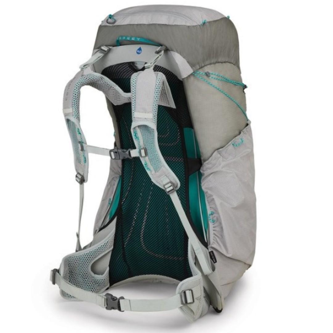 Osprey LUMINA 60 L Cyan Silver WS hiking camping backpack 童軍 遠足 行山 露營 背囊 背包 登山包