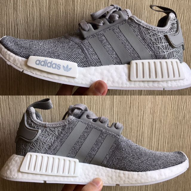89efe1c24 RARE MEN S SIZE) Adidas NMD R1 JD Sports Exclusive Runner SOLID GREY ...