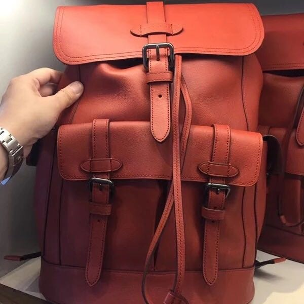 01905e848d28 SALE COACH mens Leather Backpack