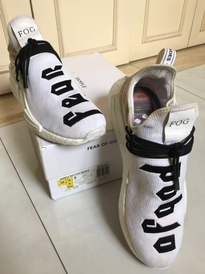 d09f88a4660f7 Sepatu Adidas Pharrell Human Race x FOG FEAR OF GOD UA QUALITY (REAL ...