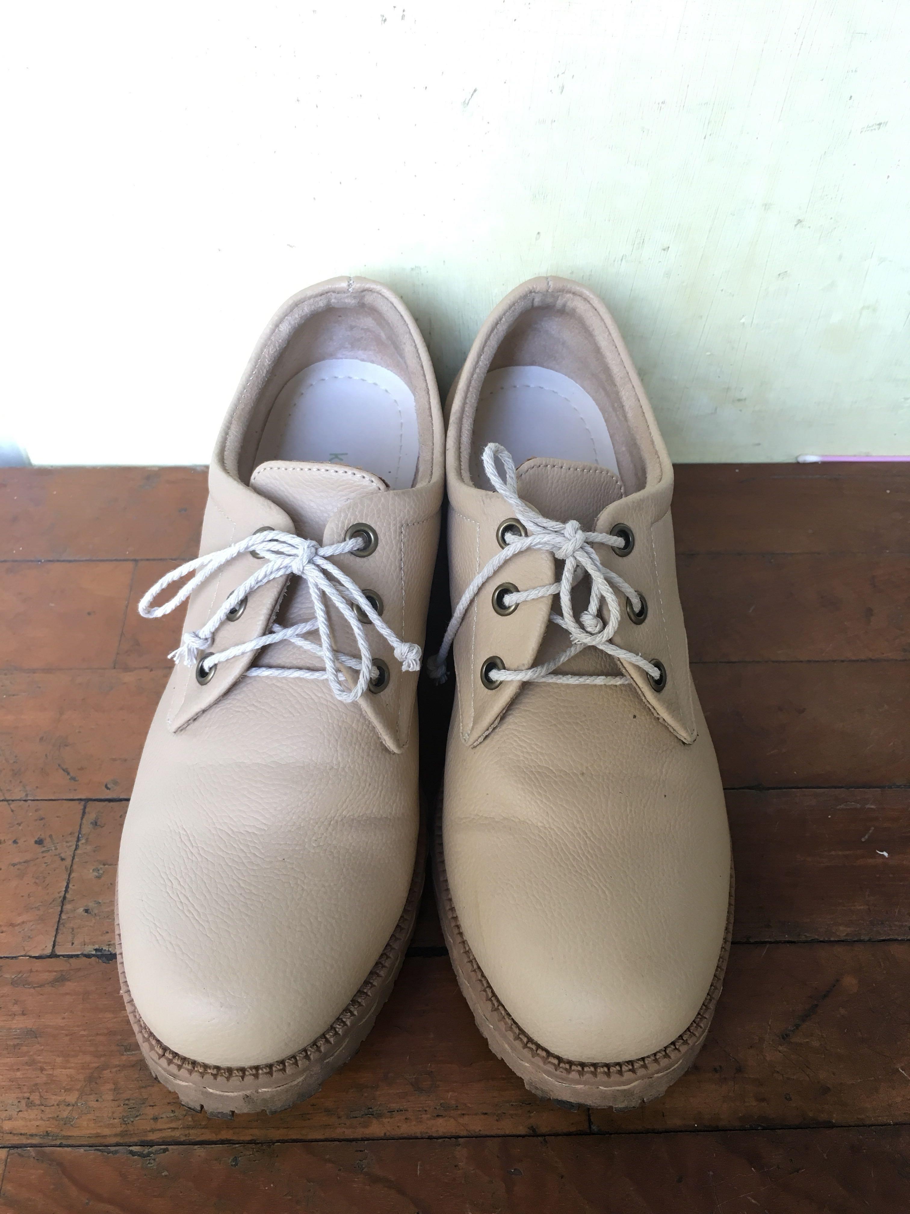 #Reprice - Sepatu boots khakikakiku