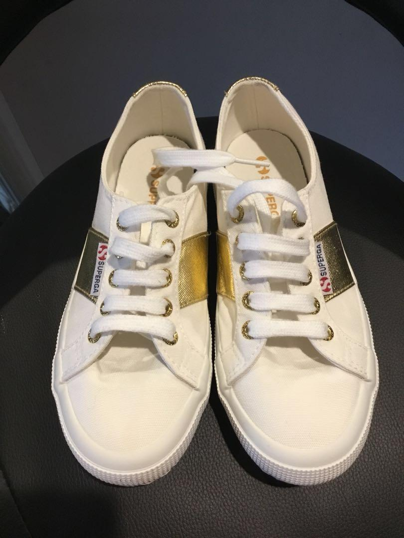 Superga Gold Band canvas Sneakers