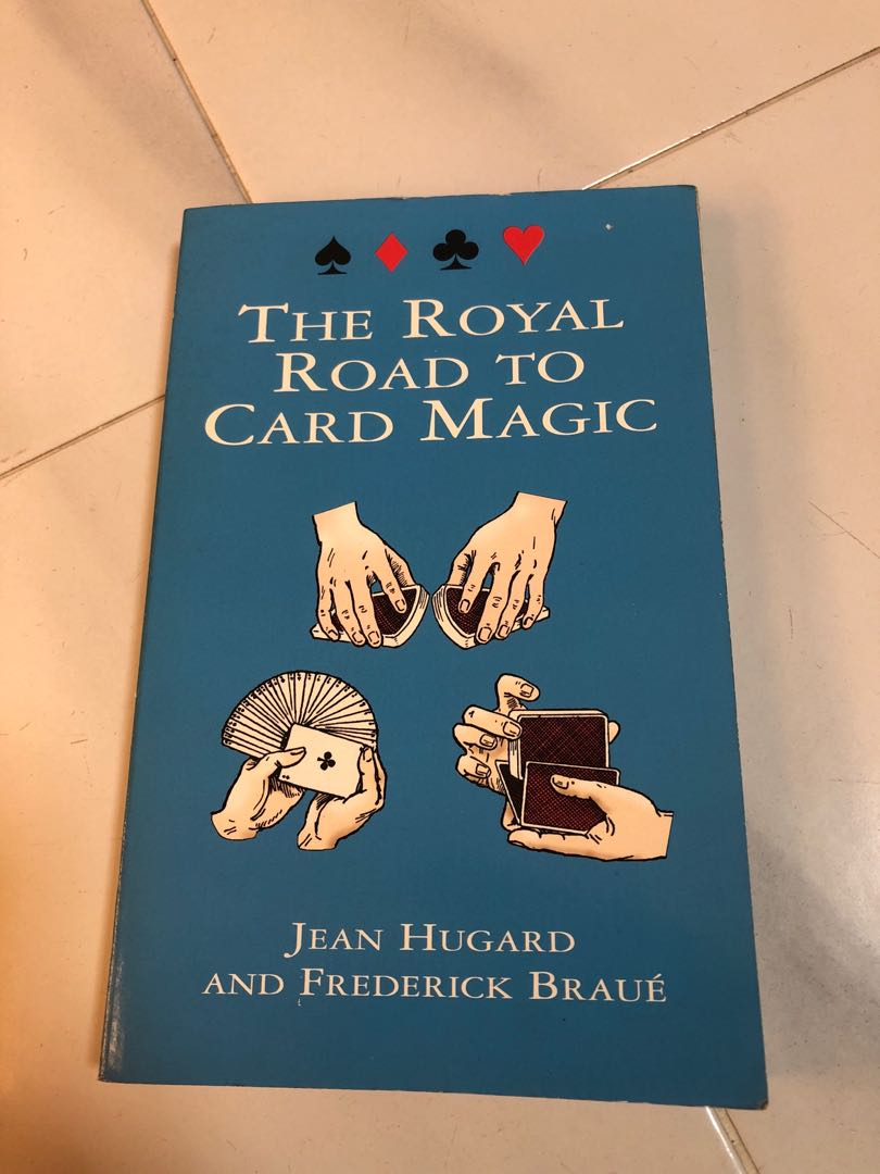 The Royal Road to Card Magic, Books & Stationery, Magazines & Others on  Carousell