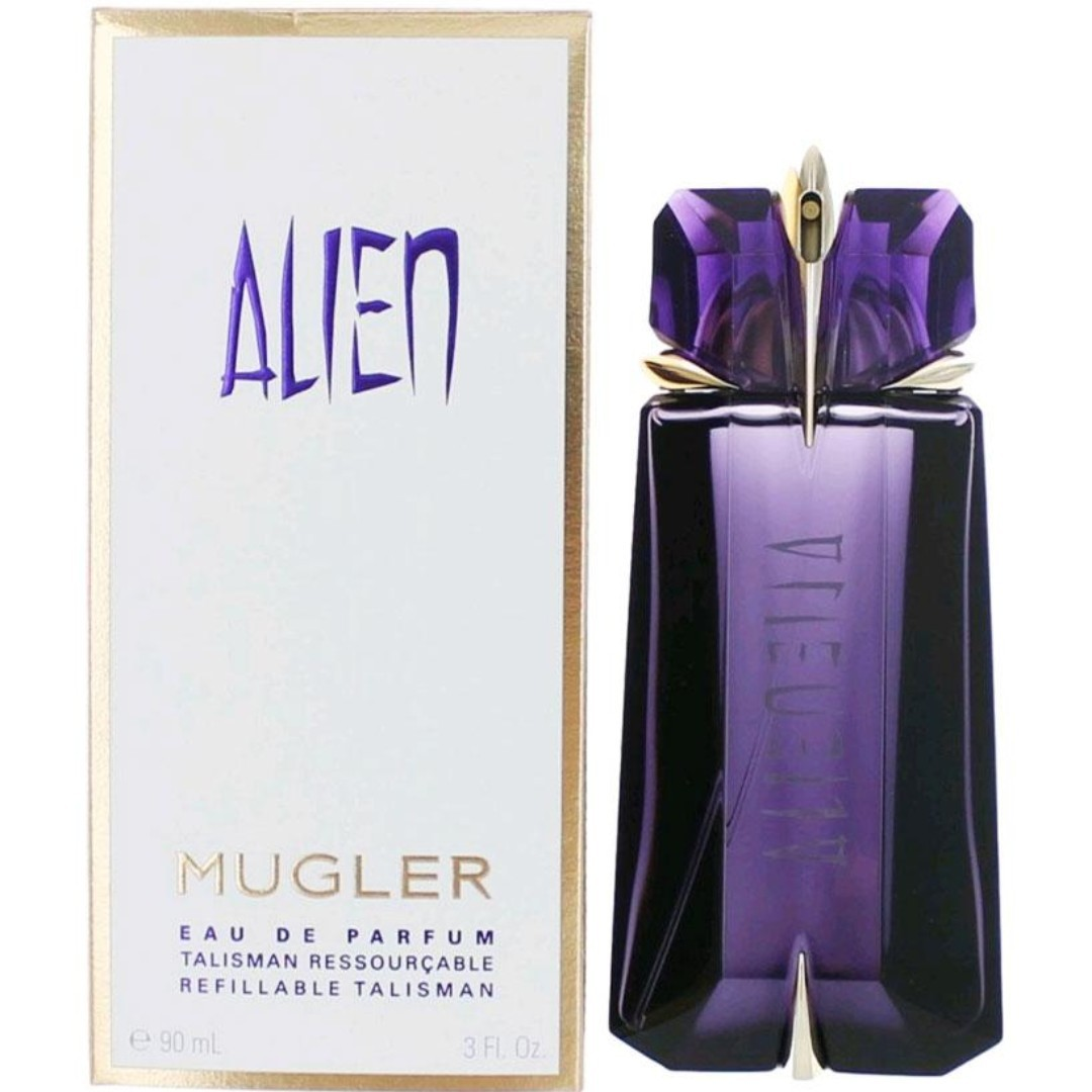 Thierry Mugler Alien Refillable Talisman Edp 90ml Health Beauty