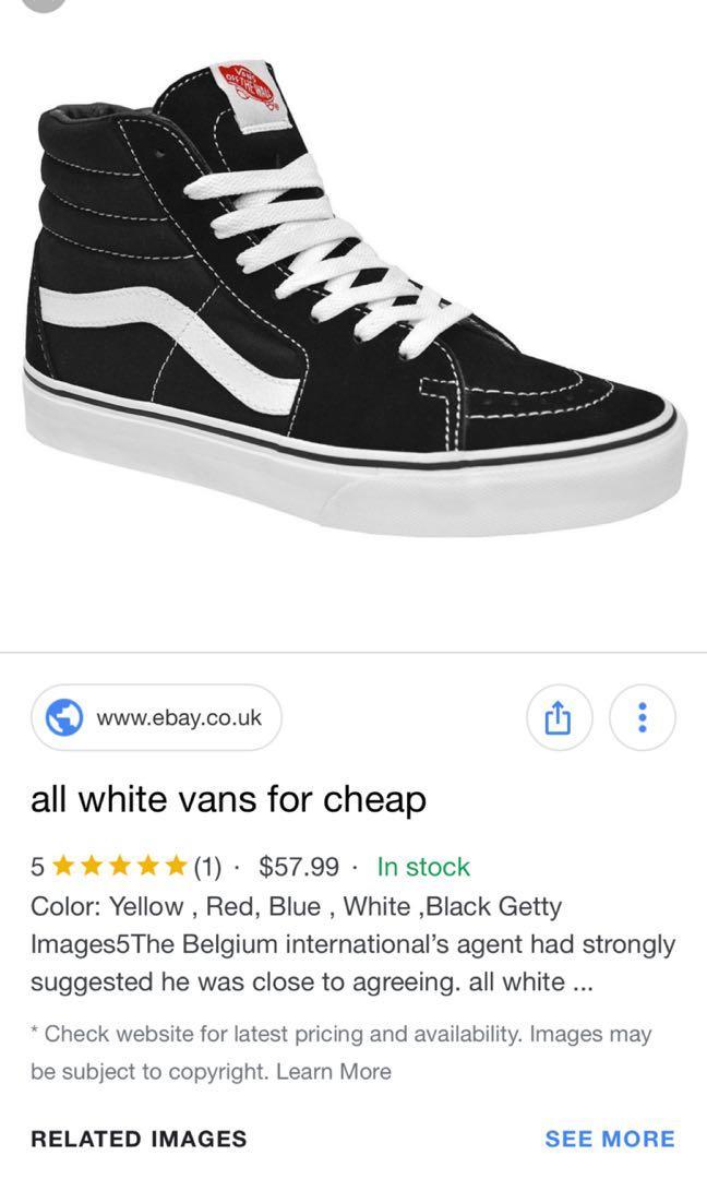 Vans high tops