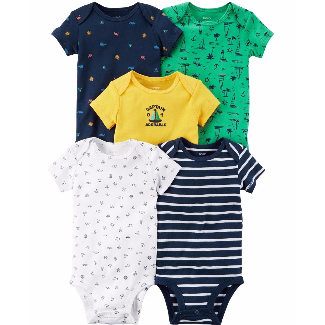 d6d78d9934b2 Year end clean sale  Newborn 4 piece set Carters short sleeve body ...