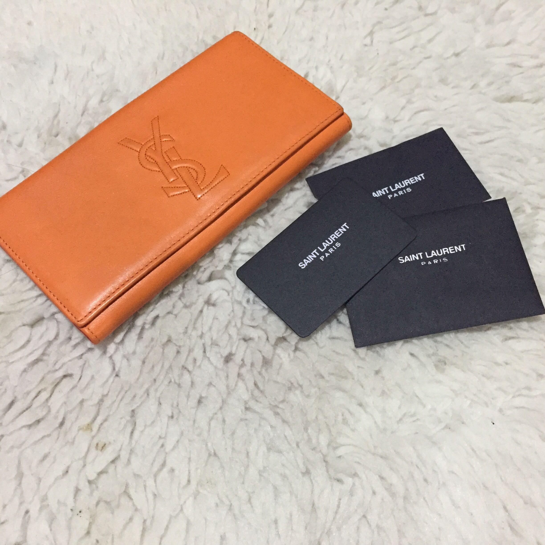 2604c3daec2 Yves Saint Laurent Bifold Long Wallet, Luxury, Bags   Wallets on ...